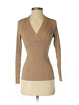 CAbi Silk Pullover Sweater Size S