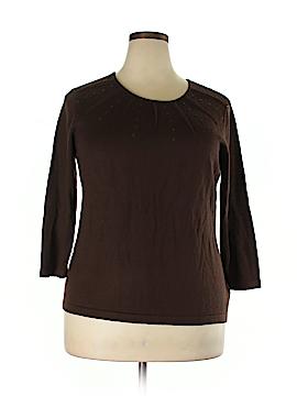 Kasper Wool Pullover Sweater Size 2X (Plus)
