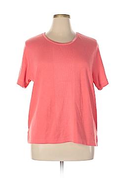 Jane Ashley Short Sleeve T-Shirt Size XL