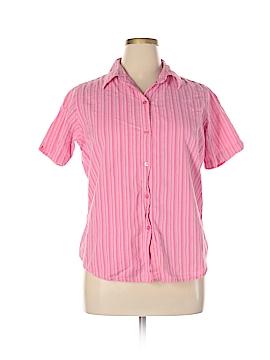 North Crest Short Sleeve Button-Down Shirt Size XL