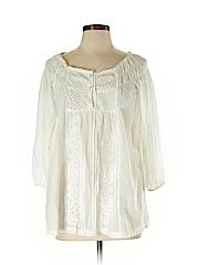Mystery Women 3/4 Sleeve Blouse Size M
