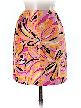Sunny Leigh Silk Skirt Size 6