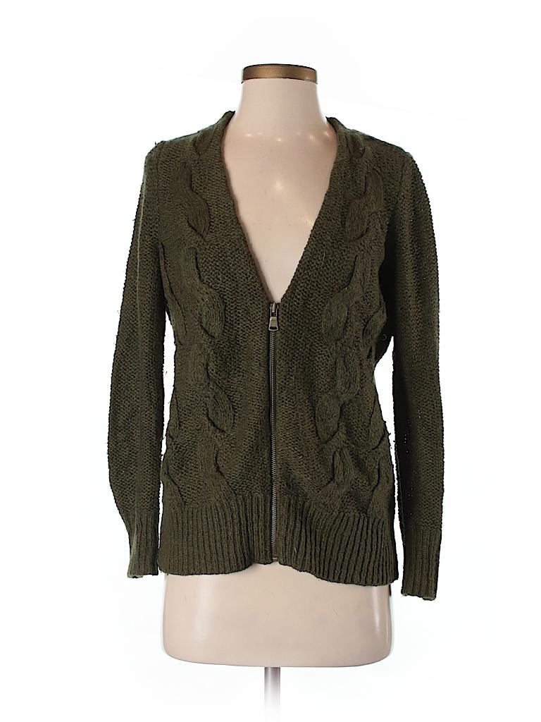 b71890ae5d Ann Taylor LOFT Solid Dark Green Cardigan Size S (Petite) - 93% off ...