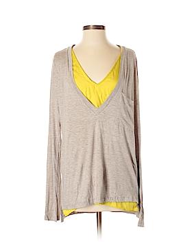 Bordeaux Women Long Sleeve Top Size S