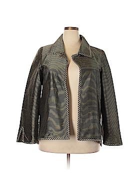 Nina Mclemore Silk Blazer Size L