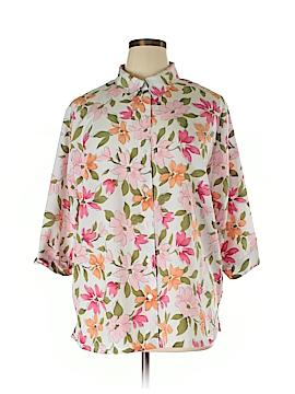 BonWorth 3/4 Sleeve Blouse Size XXL (Petite)