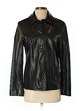 Nine West Leather Jacket Size S