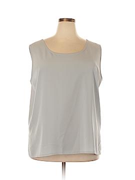 Draper's & Damon's Sleeveless Blouse Size 22W (Plus)