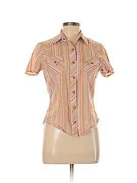 Cruel Girl Sleeveless Button-Down Shirt Size M