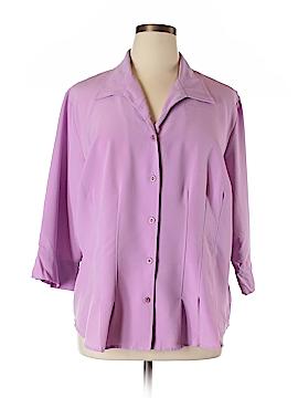Covington Outlet 3/4 Sleeve Blouse Size 22W (Plus)