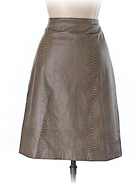 BCBGMAXAZRIA Leather Skirt Size 10