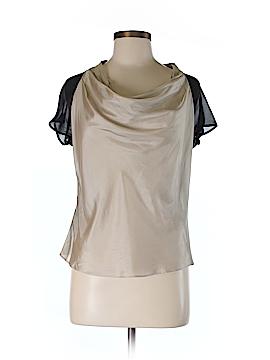 Karen Millen Short Sleeve Silk Top Size 6
