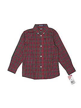 IZOD Long Sleeve Button-Down Shirt Size 6