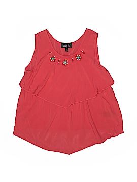 Ally B Sleeveless Blouse Size 14