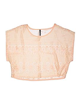 Bjewel Short Sleeve Blouse Size S