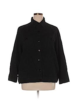Liz & Me Long Sleeve Button-Down Shirt Size 1X (Plus)