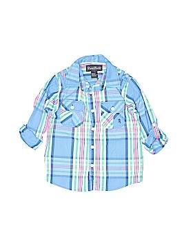 English Laundry Long Sleeve Button-Down Shirt Size 7