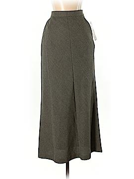 Rena Rowan Wool Skirt Size 4 (Petite)