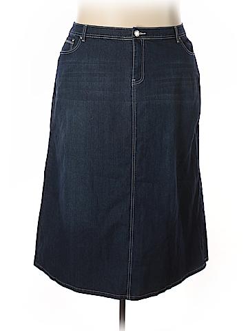 Cato Denim Skirt 24 Waist