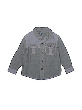 Genuine Kids from Oshkosh Long Sleeve Button-Down Shirt Size 3T