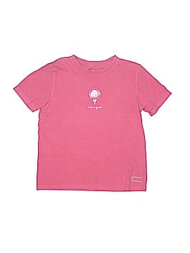 Life Is Good Short Sleeve T-Shirt Size 7 - 8