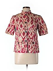 Chico's Women Short Sleeve Blouse Size Med (1)