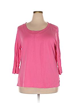 Basix 3/4 Sleeve T-Shirt Size 22/24 (Plus)