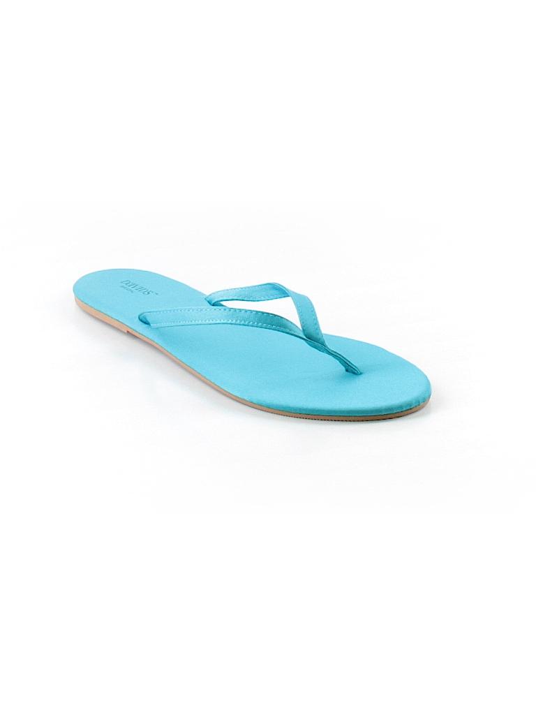 caf414649c412 David s Bridal Solid Blue Flip Flops Size 7 - 8 - 74% off
