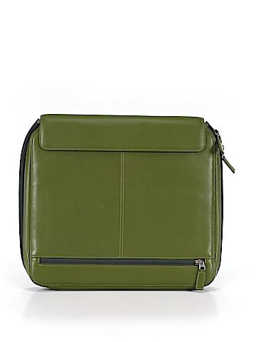 Levenger Leather Laptop Bag One Size