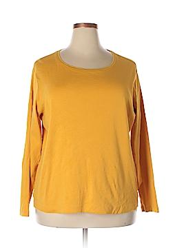 Northcrest Long Sleeve T-Shirt Size 2X (Plus)