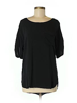 KLD Signature Short Sleeve Blouse Size M