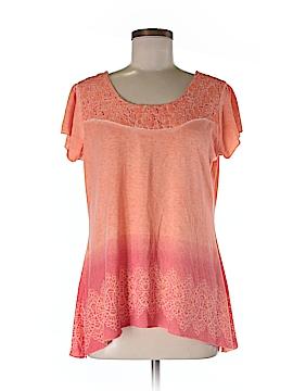 Style&Co Short Sleeve Blouse Size M