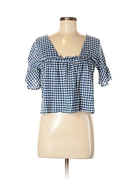 Goodnight Macaroon Short Sleeve Blouse Size S