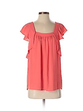 Meadow Rue Short Sleeve Blouse Size 4