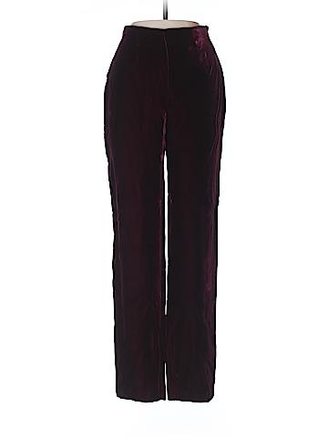 Alberta Ferretti Collection Velour Pants Size 4