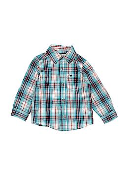 Carter's Long Sleeve Button-Down Shirt Size 18 mo