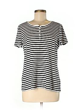 Talbots Short Sleeve Henley Size XL