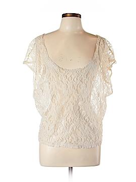 Piacere Di Piu Short Sleeve Blouse Size L