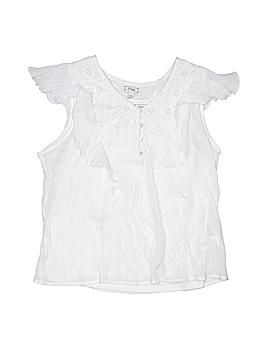 D-Signed Short Sleeve Blouse Size 14 - 16