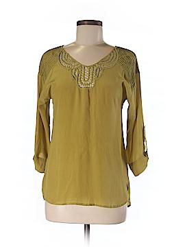 Rainn Long Sleeve Silk Top Size XS