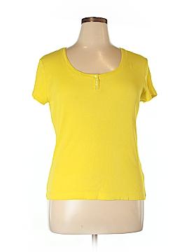 Bay Studio Short Sleeve Henley Size XL