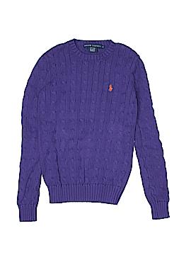 Ralph Lauren Pullover Sweater Size X-Small (Kids)