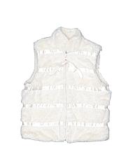 American Widgeon Girls Faux Fur Vest Size 4T