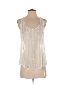 Graham & Spencer Sleeveless Silk Top Size P