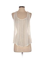 Graham & Spencer Women Sleeveless Silk Top Size P