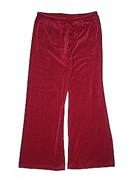 Plush & Lush Velour Pants Size M