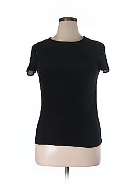 Massimo Dutti Short Sleeve Blouse Size L