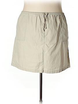 L.L.Bean Casual Skirt Size 2X (Plus)