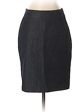 Halogen Denim Skirt Size 6 (Petite)