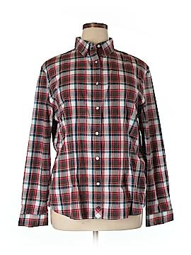 ACORN Long Sleeve Button-Down Shirt Size XL